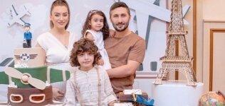Sabri Sarıoğlu'nun mutlu aile tablosu