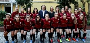 İşte Kadın Futbol Takımımız!