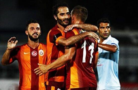 Podolski şov yaptı, Galatasaray kazandı