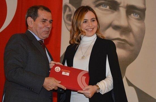 Sinan Engin'in kızı Galatasaray'da
