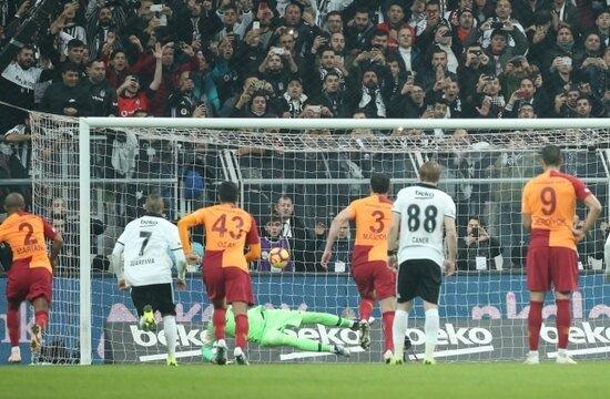 Galatasaray, son 11 golün 6'sını penaltıdan yedi!