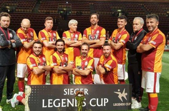 Galatasaraylı veteranlar, Almanya'da şampiyon oldu