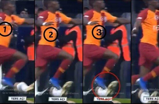 Saniye saniye Galatasaray'ın çalınan penaltısı