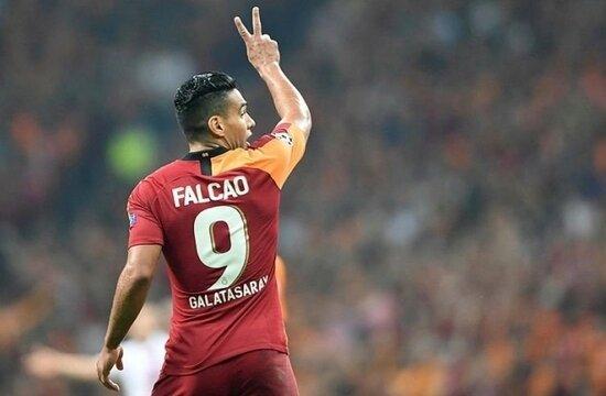 Radamel Falcao Beşiktaş derbisinde de yok!