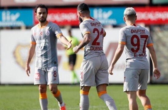 Galatasaray'dan dört dörtlük prova!