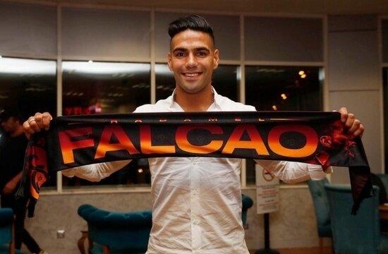 """Radamel Falcao; """"Galatasaray'ı seçtim, çünkü..."""""""