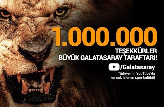 1 milyon aboneye ulaştık, hedef 1.5 milyon!