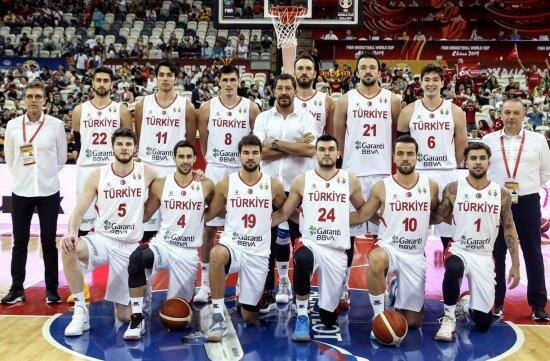 A Milli Basketbol Takımı'nın 993. sınavı