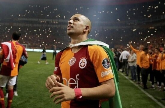Fatih Terim 'Kal' dedi, Feghouli şampiyon yaptı