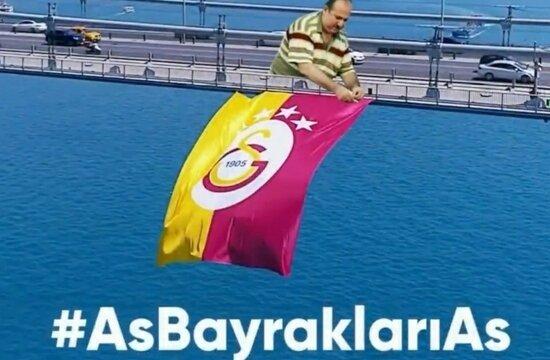 Galatasaray'dan bayrak kampanyası