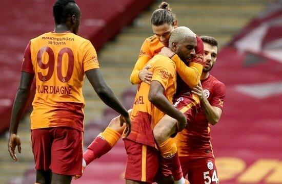 Galatasaray'da huzurun formülü; 3'te 3