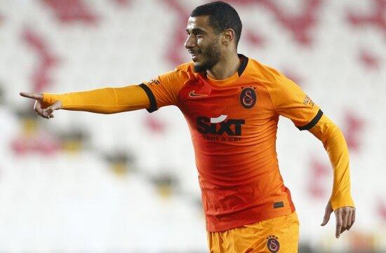 Younes Belhanda atıyor, Galatasaray kazanıyor