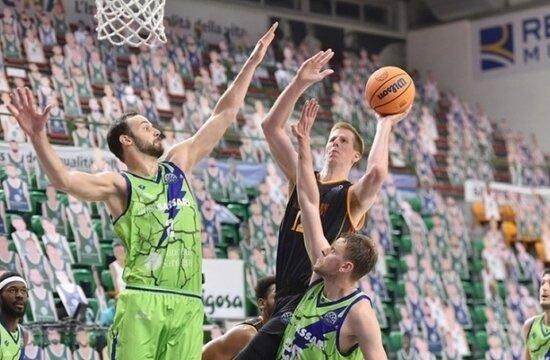 Galatasaray Basketbol, Avrupa ilk maçında kaybetti