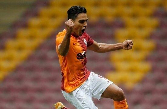 Galatasaray'da Falcao'dan müthiş geri dönüş