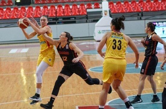 Galatasaray Kadın Basketbol, deplasmanda kazandı