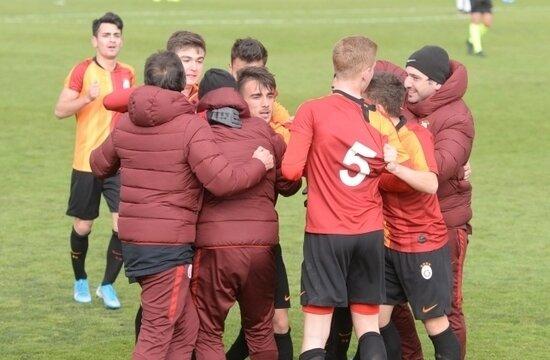 U-19 derbisinde kazanan Galatasaray!