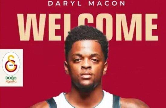 Galatasaray Doğa Sigorta, Daryl Macon'ı transfer etti