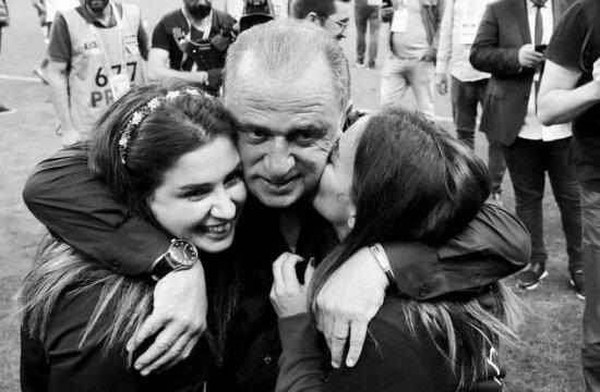 Fatih Terim ve kızlarının güçlü bağı