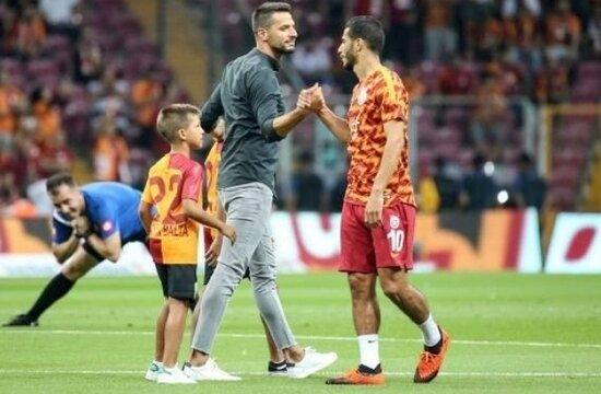 Galatasaray'da Kadıköy'ün kralı; Hakan Balta