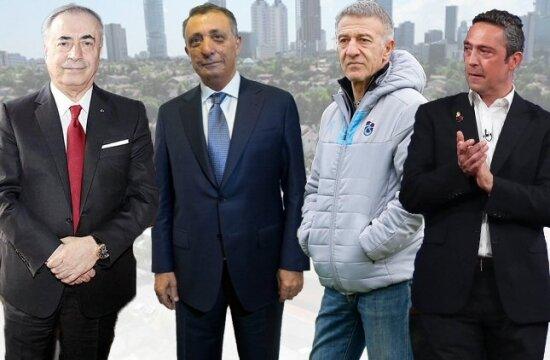 TFF Başkanı ve Dört büyük kulüp başkanı Valilik'te görüşecek