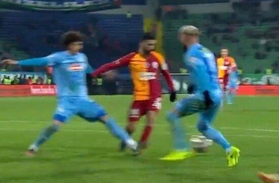 """""""Galatasaray'ın net penaltısı verilmedi"""""""