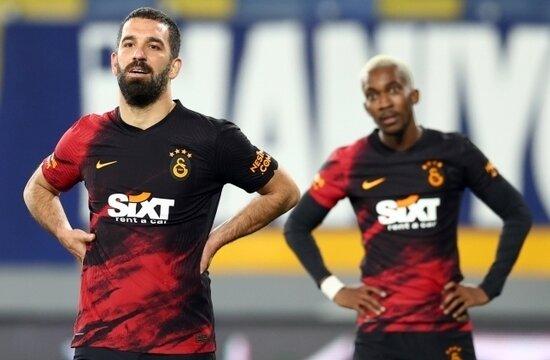 Galatasaray'ın büyük şanssızlığı