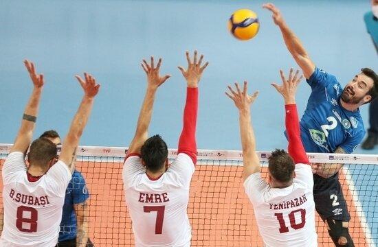 Galatasaray HDI Sigorta, Bursa'dan eli boş döndü