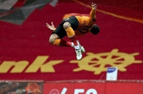 Galatasaray'ın kilit üçlüsü: 8 galibiyet ve 1 beraberlik