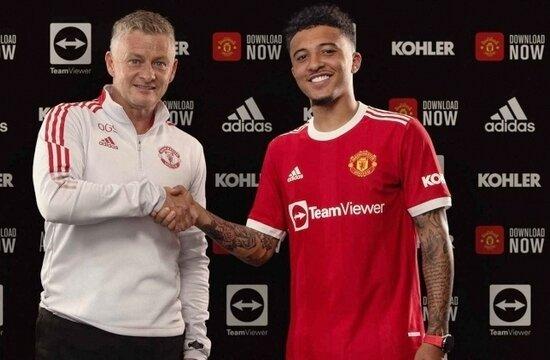 Man United, Jadon Sancho transferini açıkladı