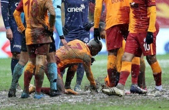 Galatasaray'da zemin seferberliği