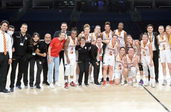 Galatasaray, kader maçını kazanarak finalde!