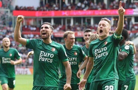 Hollanda derbisinde Feyenoord'dan PSV'ye büyük fark!