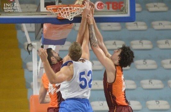 Galatasaray Nef, hazırlık maçında kazandı
